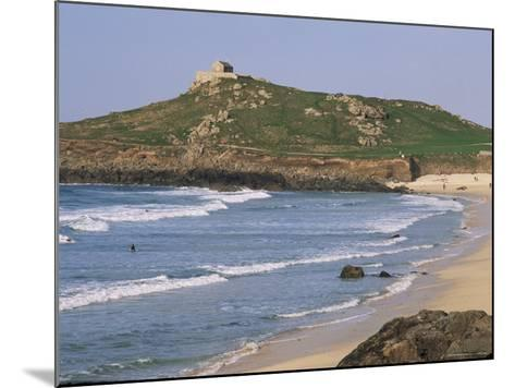 Porthmeor Beach, St. Ives, Cornwall, England, United Kingdom-Roy Rainford-Mounted Photographic Print