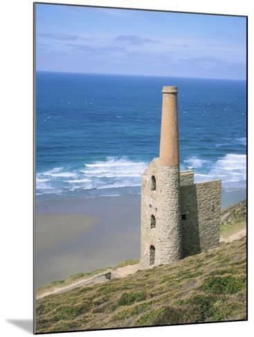 Wheal Coates Mine, St. Agnes, Cornwall, England, United Kingdom-Roy Rainford-Mounted Photographic Print