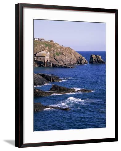 Lizard Point, Cornwall, England, United Kingdom-Roy Rainford-Framed Art Print