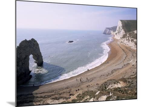 Durdle Door and Bats Head, Dorset, England, United Kingdom-Roy Rainford-Mounted Photographic Print