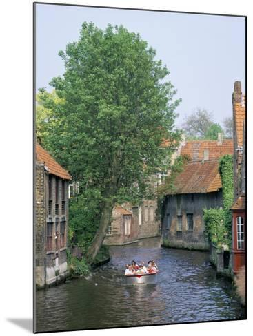 Boat Trips Along the Canals, Brugge (Bruges), Belgium-Roy Rainford-Mounted Photographic Print