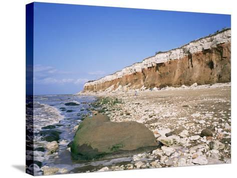 Start or End of the Wash, Hunstanton Cliffs, Norfolk, England, United Kingdom-Roy Rainford-Stretched Canvas Print