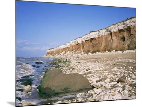 Start or End of the Wash, Hunstanton Cliffs, Norfolk, England, United Kingdom-Roy Rainford-Mounted Photographic Print