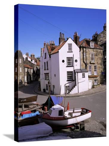 Robin Hood's Bay, Yorkshire, England, United Kingdom-Roy Rainford-Stretched Canvas Print