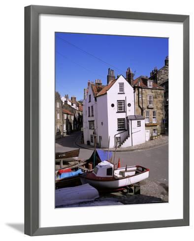 Robin Hood's Bay, Yorkshire, England, United Kingdom-Roy Rainford-Framed Art Print