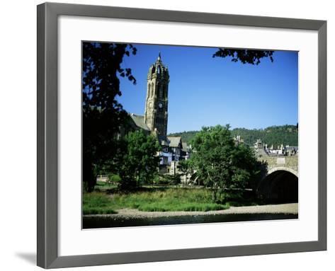 Peebles, Borders, Scotland, United Kingdom-Roy Rainford-Framed Art Print