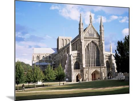 Winchester Cathedral, Winchester, Hampshire, England, United Kingdom-Roy Rainford-Mounted Photographic Print