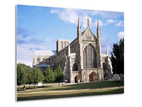 Winchester Cathedral, Winchester, Hampshire, England, United Kingdom-Roy Rainford-Metal Print