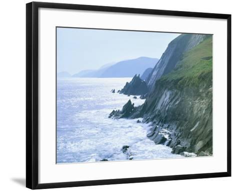Slea Head, Dingle Peninsula, County Kerry, Munster, Republic of Ireland (Eire)-Roy Rainford-Framed Art Print