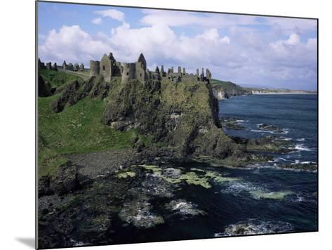 Dunluce Castle, County Antrim, Northern Ireland, United Kingdom-Roy Rainford-Mounted Photographic Print