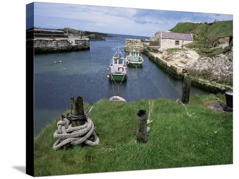Ballintoy Harbour, County Antrim, Ulster, Northern Ireland, United Kingdom-Roy Rainford-Stretched Canvas Print
