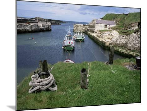 Ballintoy Harbour, County Antrim, Ulster, Northern Ireland, United Kingdom-Roy Rainford-Mounted Photographic Print
