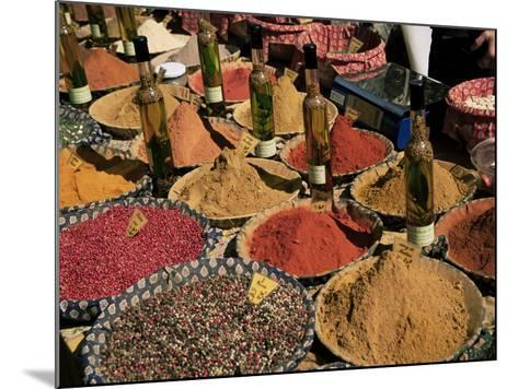 Herbs and Spices, Aix En Provence, Bouches Du Rhone, Provence, France-Roy Rainford-Mounted Photographic Print
