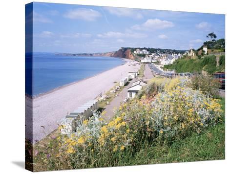 Budleigh Salterton, Devon, England, United Kingdom-Roy Rainford-Stretched Canvas Print