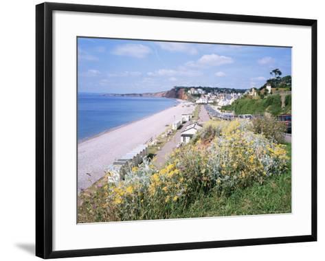 Budleigh Salterton, Devon, England, United Kingdom-Roy Rainford-Framed Art Print