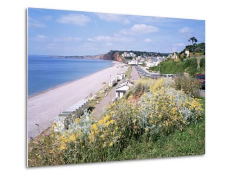 Budleigh Salterton, Devon, England, United Kingdom-Roy Rainford-Metal Print
