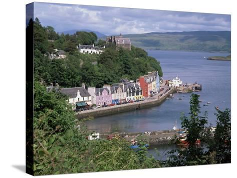 Tobermory, Isle of Mull, Strathclude, Scotland, United Kingdom-Roy Rainford-Stretched Canvas Print