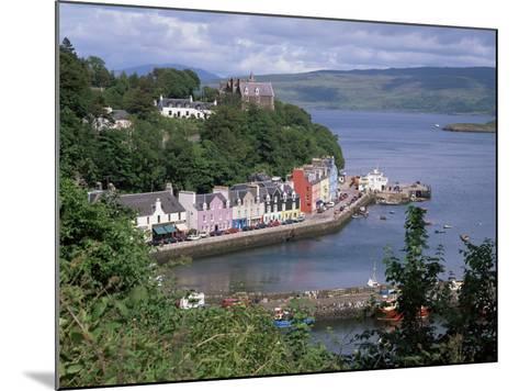 Tobermory, Isle of Mull, Strathclude, Scotland, United Kingdom-Roy Rainford-Mounted Photographic Print