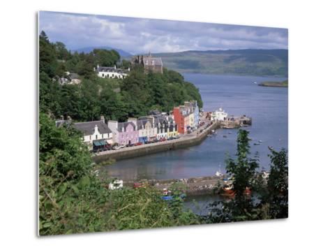 Tobermory, Isle of Mull, Strathclude, Scotland, United Kingdom-Roy Rainford-Metal Print