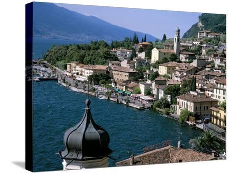 Limone, Lake Garda, Italian Lakes, Lombardy, Italy-Roy Rainford-Stretched Canvas Print
