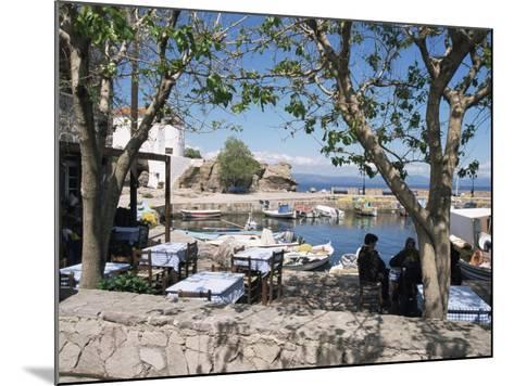Skala Sikimmia Harbour, Lesbos, Greece-Roy Rainford-Mounted Photographic Print