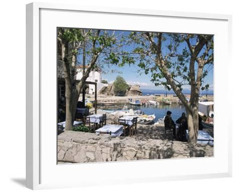 Skala Sikimmia Harbour, Lesbos, Greece-Roy Rainford-Framed Art Print