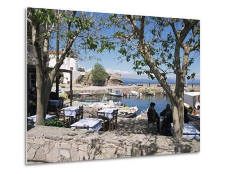Skala Sikimmia Harbour, Lesbos, Greece-Roy Rainford-Metal Print