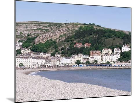 Beach and Great Orme, Llandudno, Conwy, Wales, United Kingdom-Roy Rainford-Mounted Photographic Print