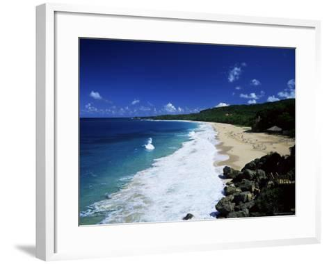Playa Grande, North Coast, Dominican Republic, West Indies, Central America-John Miller-Framed Art Print
