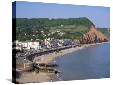 Sidmouth, Devon, England, United Kingdom-John Miller-Stretched Canvas Print