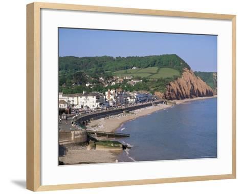 Sidmouth, Devon, England, United Kingdom-John Miller-Framed Art Print