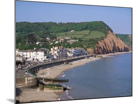Sidmouth, Devon, England, United Kingdom-John Miller-Mounted Photographic Print