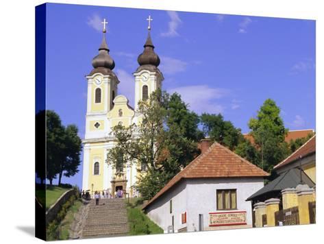 Tihany, Near Balatonfured, Lake Balaton, Hungary-John Miller-Stretched Canvas Print
