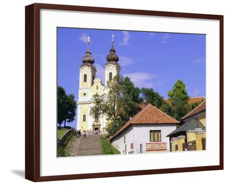 Tihany, Near Balatonfured, Lake Balaton, Hungary-John Miller-Framed Art Print