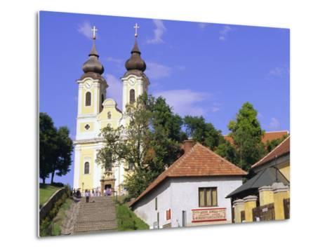 Tihany, Near Balatonfured, Lake Balaton, Hungary-John Miller-Metal Print