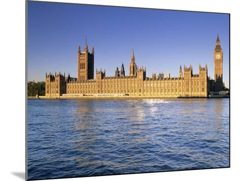 The Houses of Parliament (Palace of Westminster), Unesco World Heritage Site, London, England-John Miller-Mounted Photographic Print