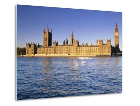 The Houses of Parliament (Palace of Westminster), Unesco World Heritage Site, London, England-John Miller-Metal Print