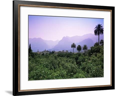 Soller, Majorca, Balearic Islands, Spain-John Miller-Framed Art Print