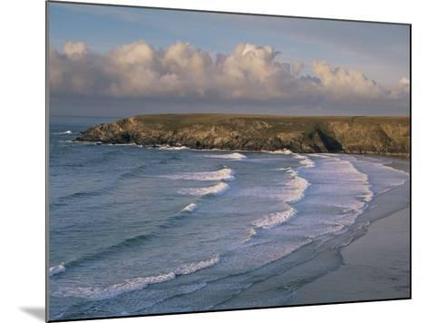 Holywell Bay, Near Newquay, Cornwall, England, United Kingdom-John Miller-Mounted Photographic Print