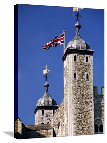 White Tower, Tower of London, Unesco World Heritage Site, London, England, United Kingdom-John Miller-Stretched Canvas Print