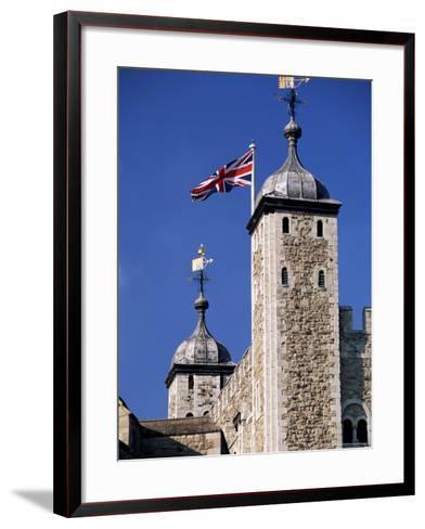 White Tower, Tower of London, Unesco World Heritage Site, London, England, United Kingdom-John Miller-Framed Art Print