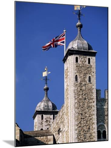 White Tower, Tower of London, Unesco World Heritage Site, London, England, United Kingdom-John Miller-Mounted Photographic Print