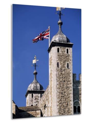 White Tower, Tower of London, Unesco World Heritage Site, London, England, United Kingdom-John Miller-Metal Print