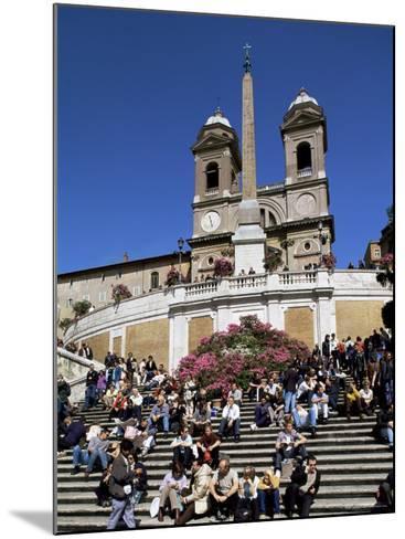Spanish Steps, Rome, Lazio, Italy-John Miller-Mounted Photographic Print