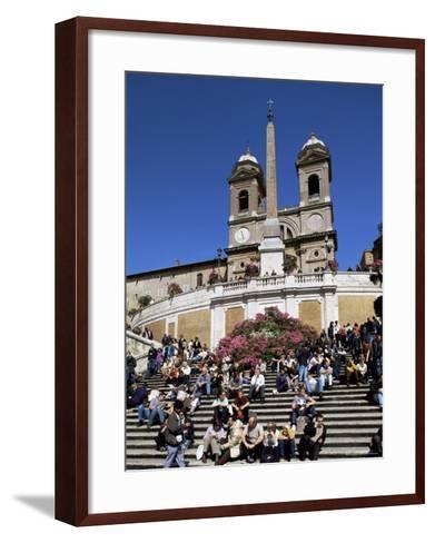 Spanish Steps, Rome, Lazio, Italy-John Miller-Framed Art Print