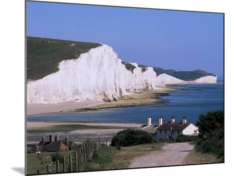 The Seven Sisters, East Sussex, England, United Kingdom-John Miller-Mounted Photographic Print