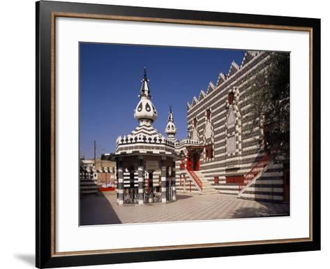 The Darwish (Abu Darwish) Mosque, Amman, Jordan, Middle East-Michael Short-Framed Art Print