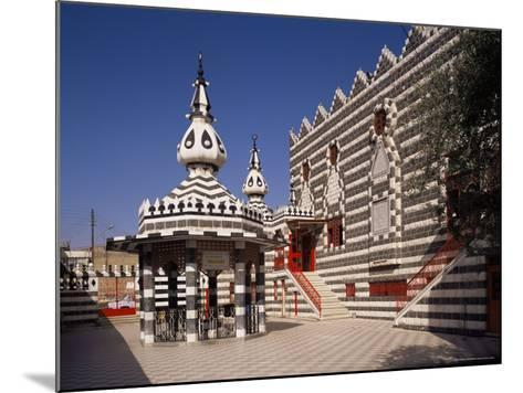 The Darwish (Abu Darwish) Mosque, Amman, Jordan, Middle East-Michael Short-Mounted Photographic Print