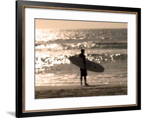 Bondi Beach, Sydney, New South Wales, Australia-Mark Mawson-Framed Art Print