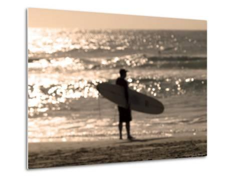 Bondi Beach, Sydney, New South Wales, Australia-Mark Mawson-Metal Print
